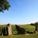 Dolmen en menhirs in de Belgische Ardennen